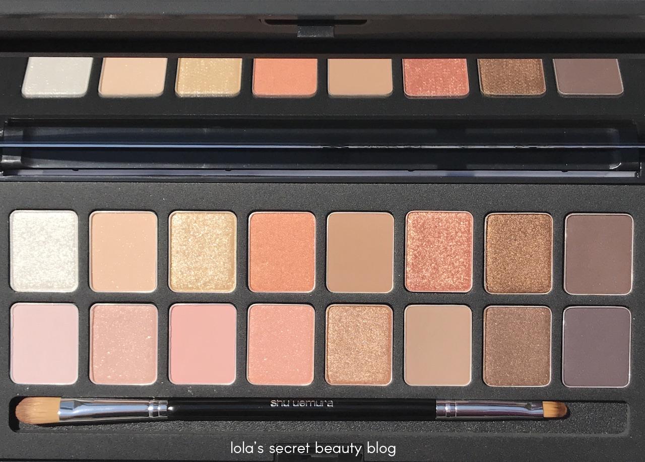Shu Uemura Shu : Palette (16 shades of nude) - Review