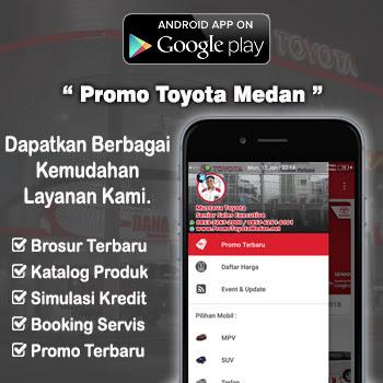 Aplikasi Android Dealer Mobil Toyota Perintis Medan Sumatra Utara Nanggroe Aceh Darussalam