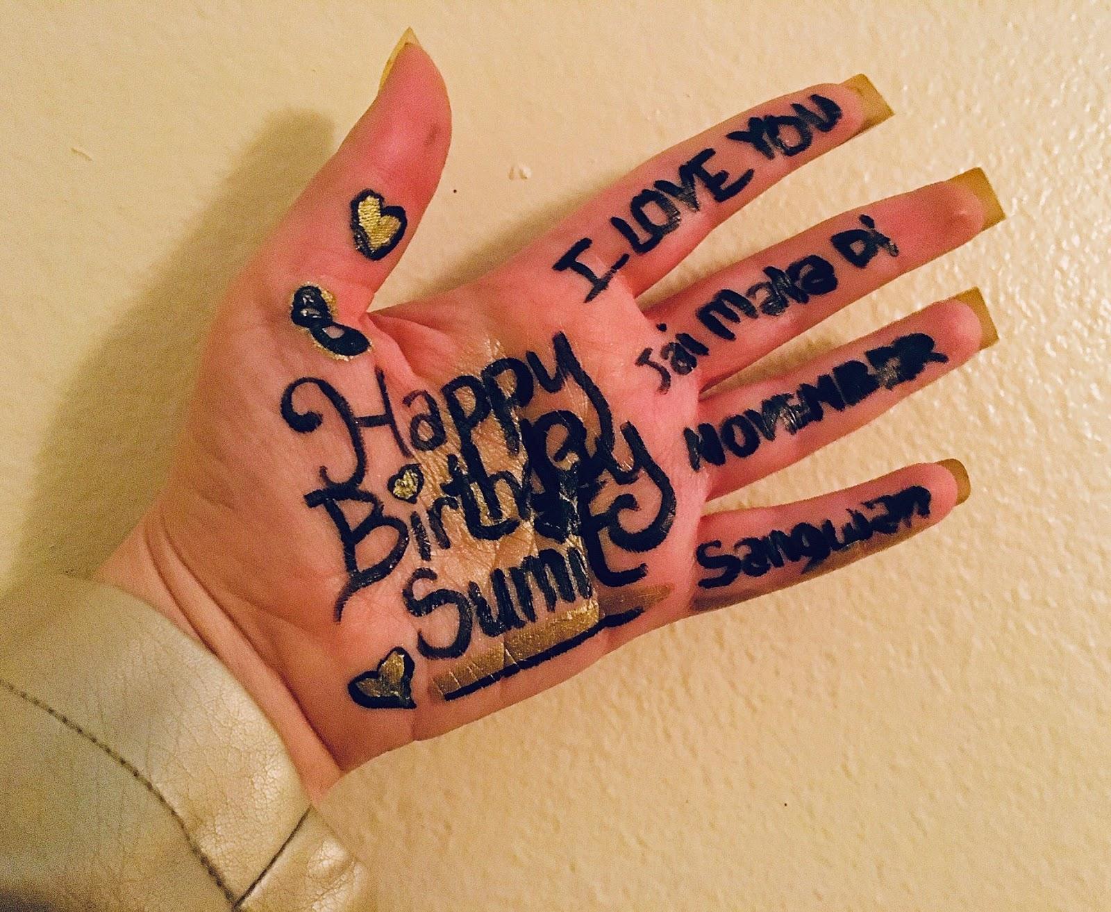 Happy Birthday Sumit