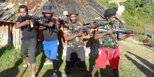 KKB Papua Ancam Seret TNI-Polri ke Mahkamah Internasional