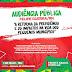 1 de Maio em Felipe Guerra acontecerá audiência publica na câmara e caminha na avenida contra a reforma de previdência.