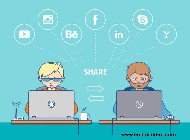 bagikan artikel mu di berbagai media sosial