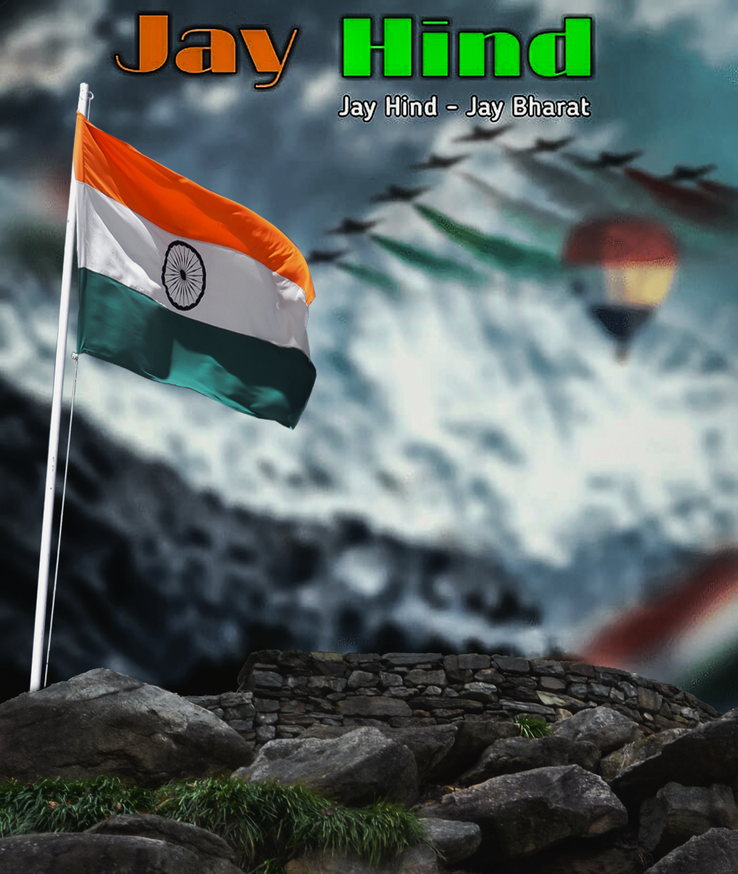 15 August 2019 cb background download, Independence day background