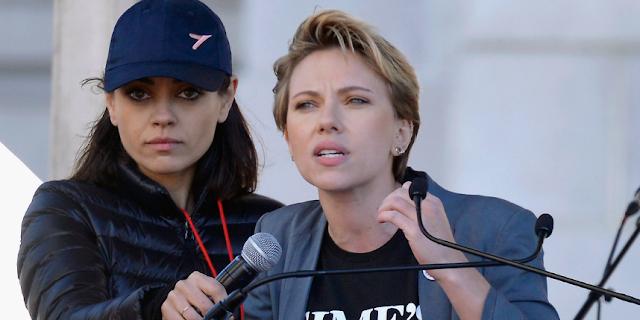 """Scarlett Johansson a James Franco: """"quiero mi pin de vuelta"""""""