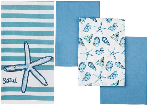 Coastal Blue Kitchen Towels