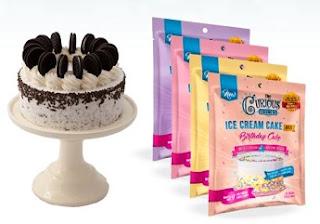 ice cream cake and mixes