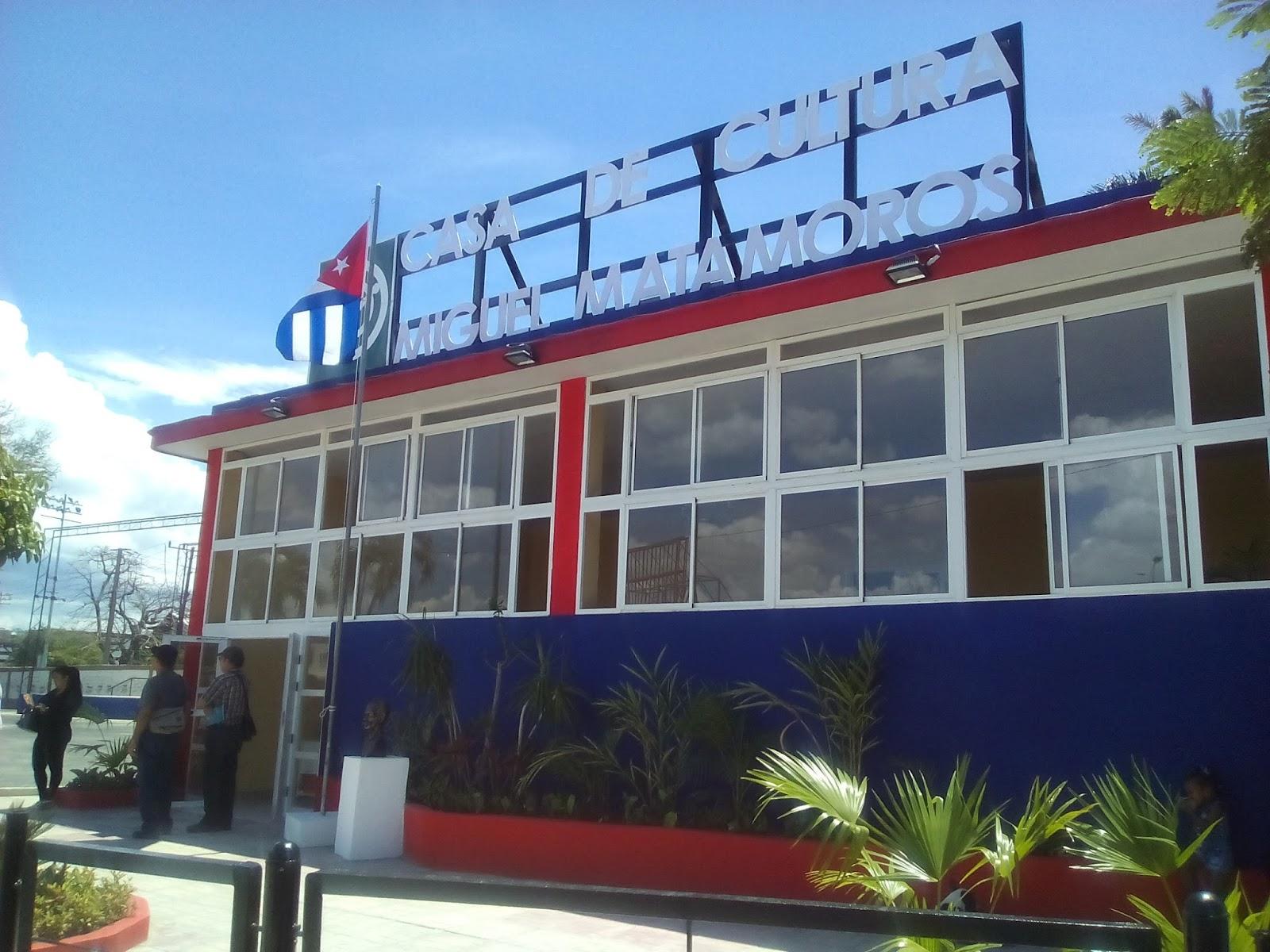 Resultado de imagen para casa municipal de cultura Miguel matamoros santiago de Cuba