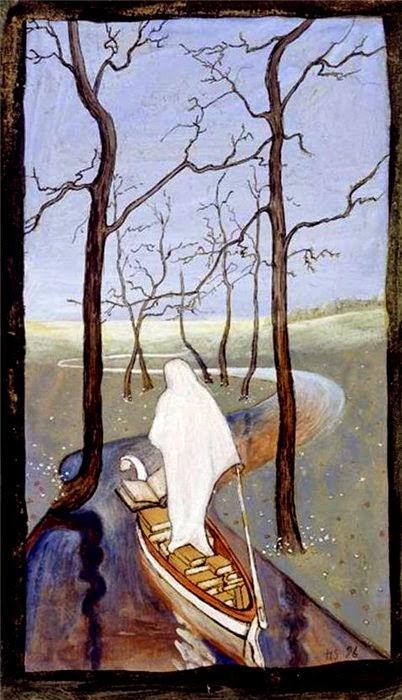 O Fluxo da Vida - Hugo Simberg e seus simbolismos ~ O artista ansiava por solidão e paz