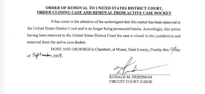 Greenfield v. Kent Security moved to federal court.