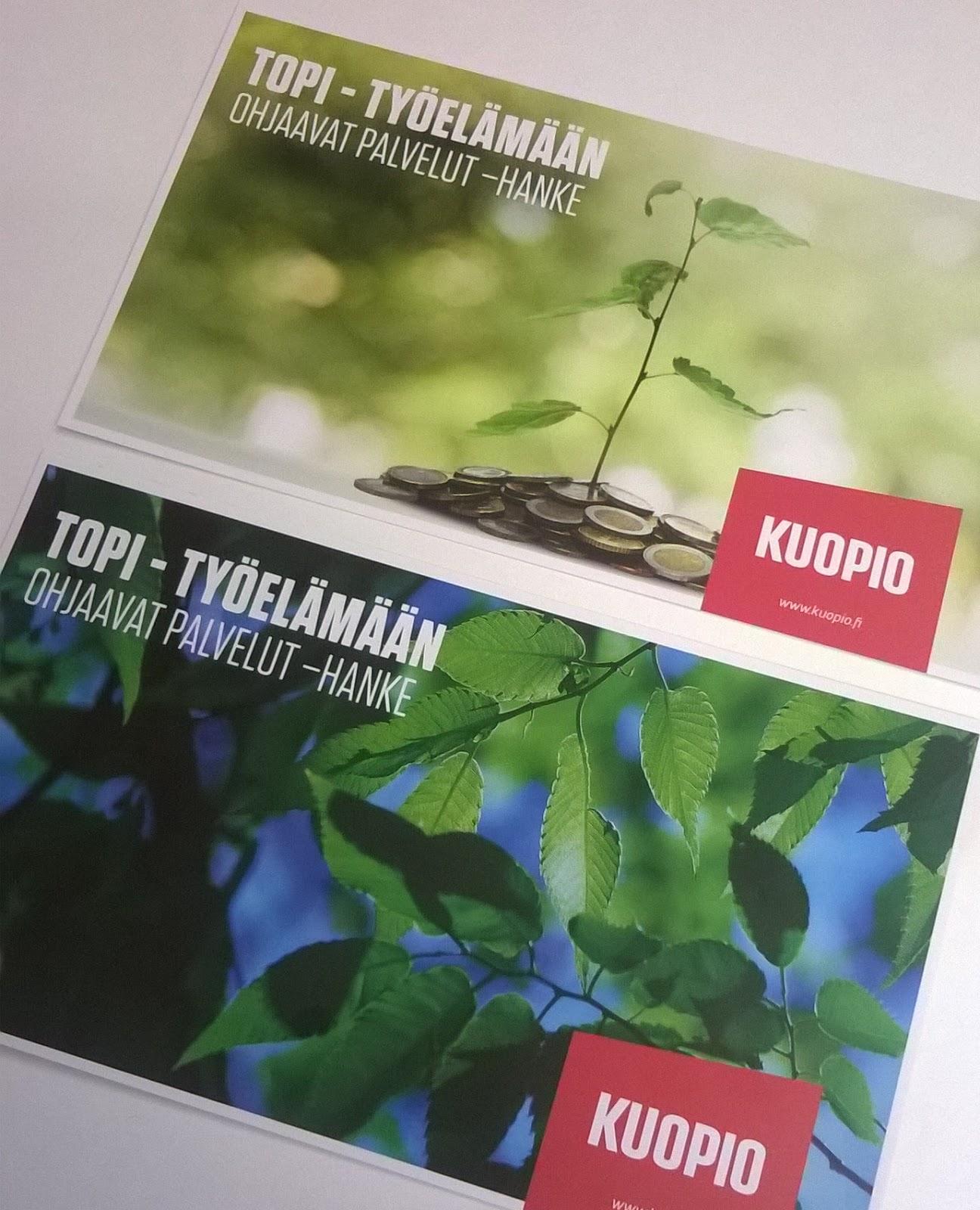 Kuopion kaupunki TOPI blogi starttaa!
