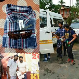 Surya-Love-For-Fans-wearing -shirt-NGK