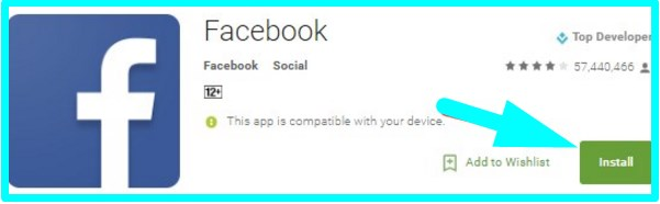 download facebook login application