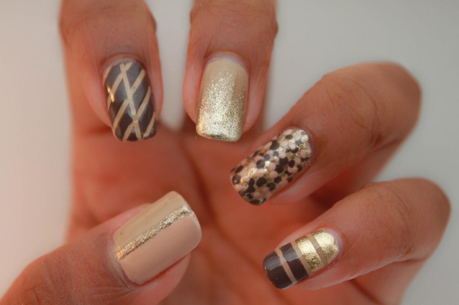 nail art deco cute nails. Black Bedroom Furniture Sets. Home Design Ideas
