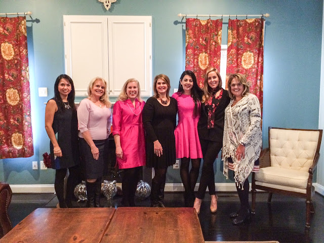 lifestyle blogger fashion after 40 tea party kayce hughes silk tunic