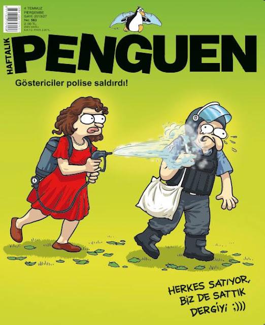 Penguen Dergisi | 4 Temmuz 2013 Kapak Karikatürü