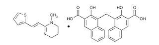 Pirantel Pamoat Berikatan dengan reseptor asetilkolin tipe nikotinik sehingga terjadi peng Pirantel Pamoat