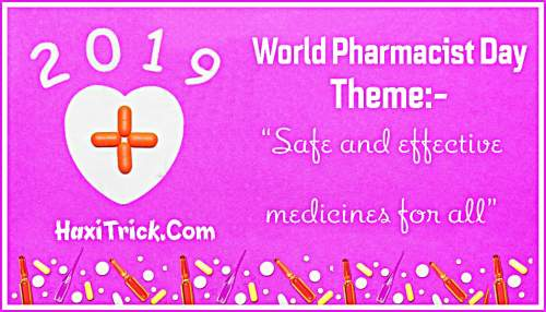 World Pharmacist Day Theme 2019