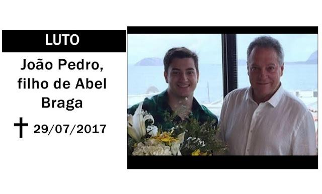 Morre filho do técnico Abel Braga.
