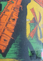 Dom Quixote das crianças. Monteiro Lobato. Editora Brasiliense. Augustus (Augusto Mendes da Silva). Contracapa de Livro. Década de 1950. Década de 1960.