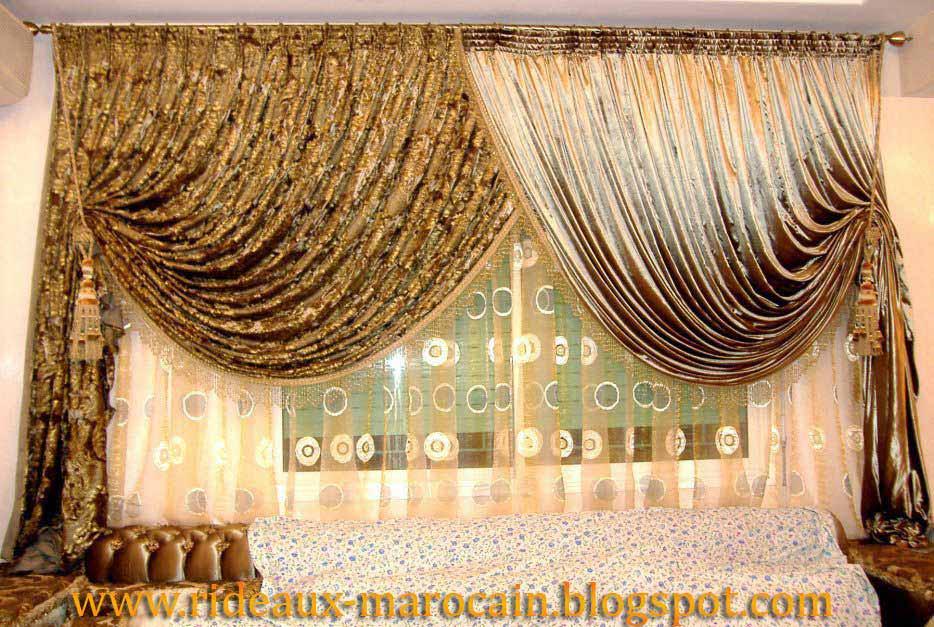 rideaux marocain blogger