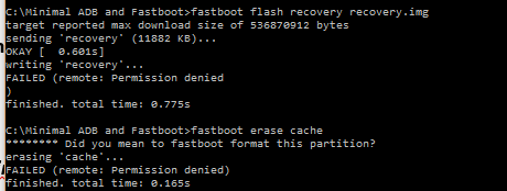 Fixed: Zenfone 2 stuck in recovery after wipe cache