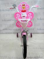 2 Sepeda Anak Nakita NL1602 Butterfly Sandaran 16 Inci