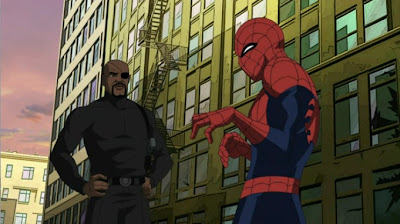 Ultimate Spider-Man Nick Fury