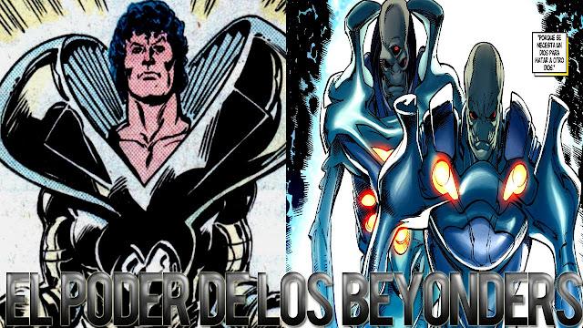Thần Thor và Hyperion tử chiến các thực thể Beyonders