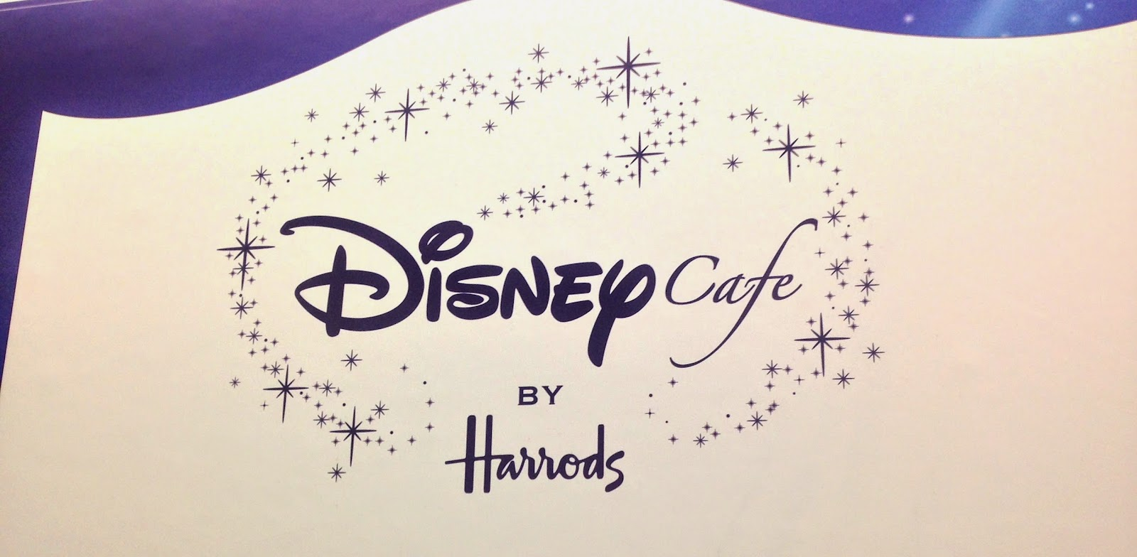 Disney Cafe Harrods