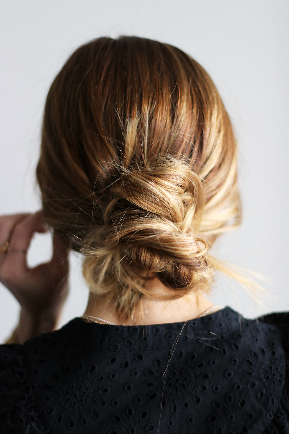 Diy File Three Easy Bun Hairstyles For The Holidays The Vault Files