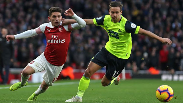 Chris Lowe Lucas Torreira Arsenal Huddersfield