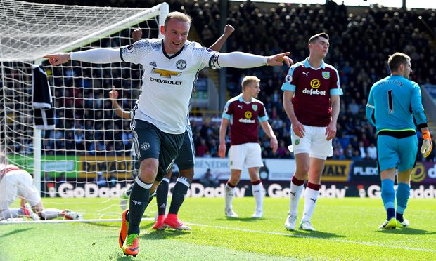 Rooney Pecahkan Rekor Gol Sendiri di Kandang Burnley
