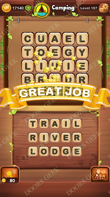 Word Bright Level 197 Answers, Cheats, Solutions, Walkthrough for android, iphone, ipad and ipod