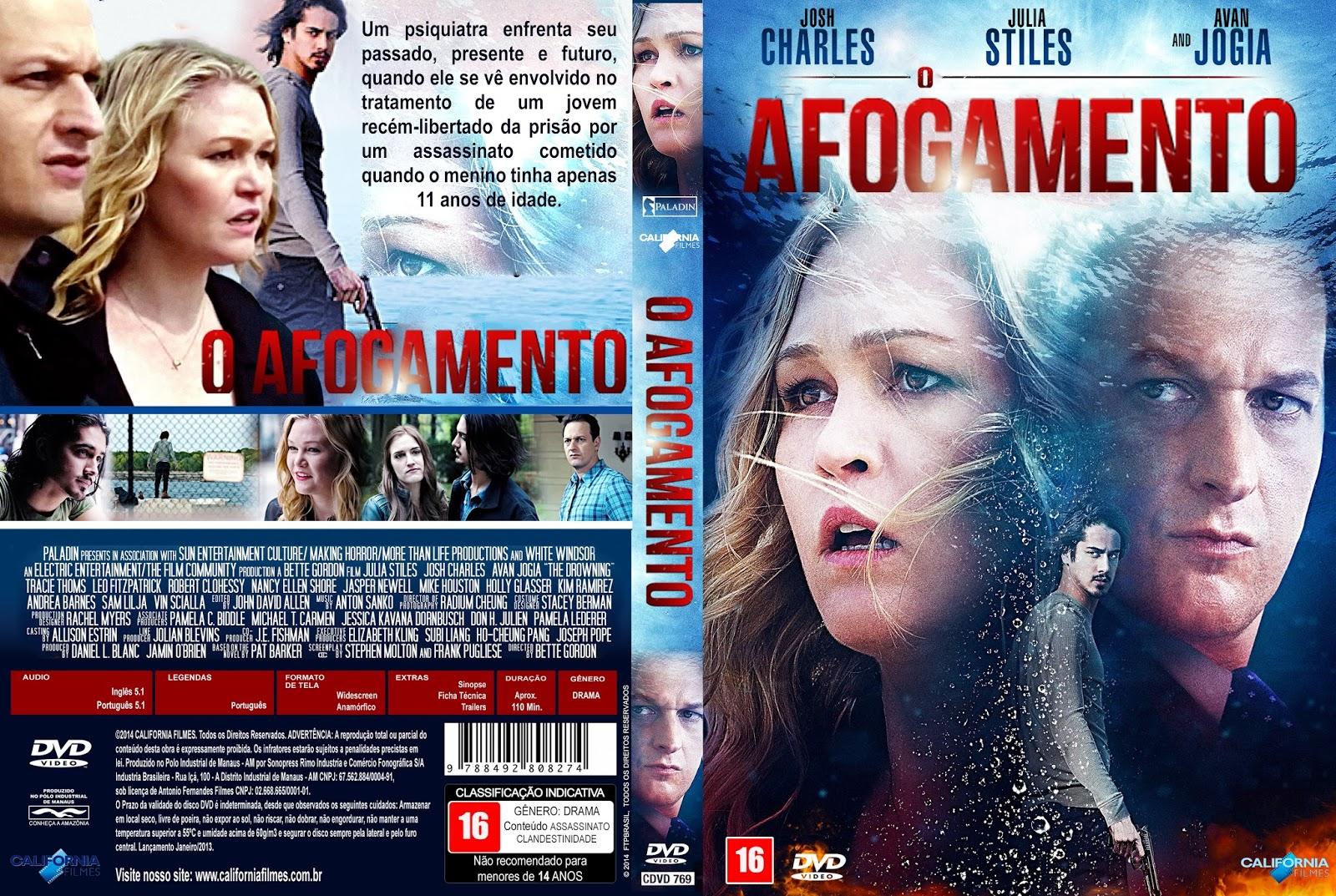 Tudo Capas 04: O Afogamento (2017) - Capa Filme DVD