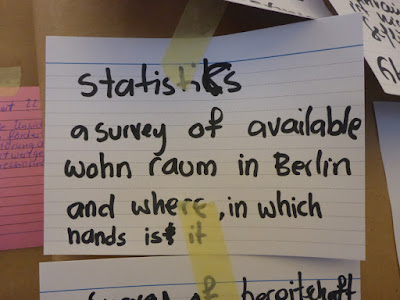 Statistics: A survey of available Wohnraum in Berlin and where, in which hands is it