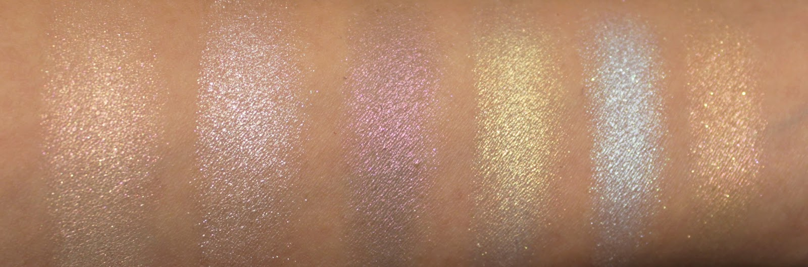 Anastasia Beverly Hill Aurora Glow Kit Swatches