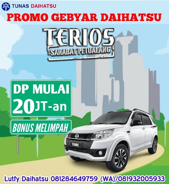 Promo Mobil Daihatsu Terios Cicilan Murah Jakarta dan Bekasi