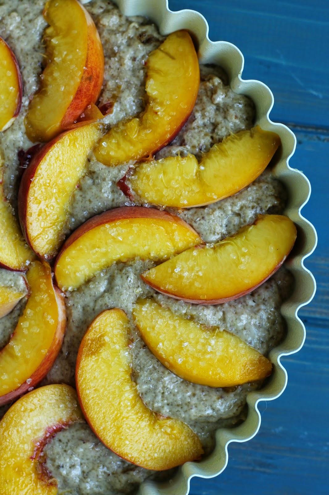 Doughvelopment: Late Summer Peach Almond Cake