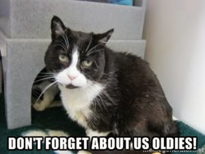 Don't forget about us oldies!