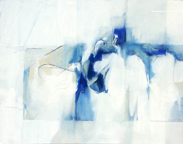 Untitled Abstract Painting - Rosemary Marchetta