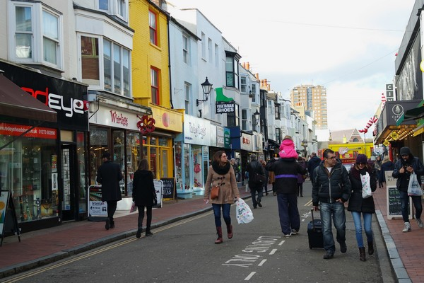 brighton north laine shopping alternative