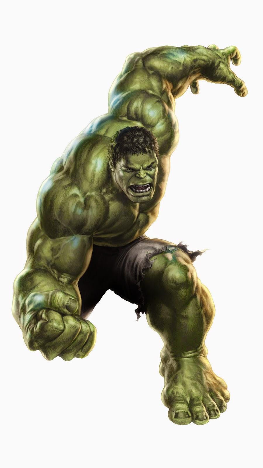 comic cartoons: The Hulk