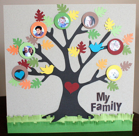 Family Tree Crafts Mother's Day Crafts & Gift Ideas
