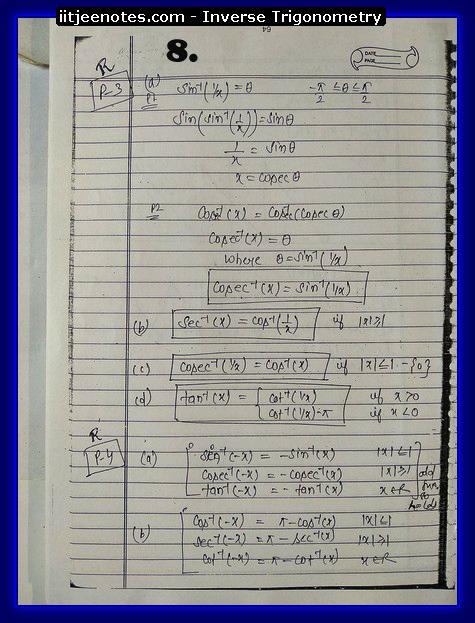 inverse trigonometry function2