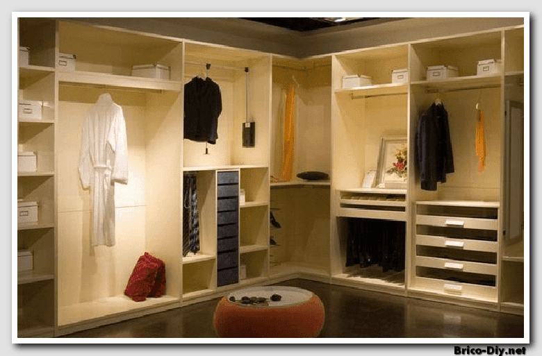 Walk in closet dise os modernos ideas para decorar y for Closet en melamina modernos