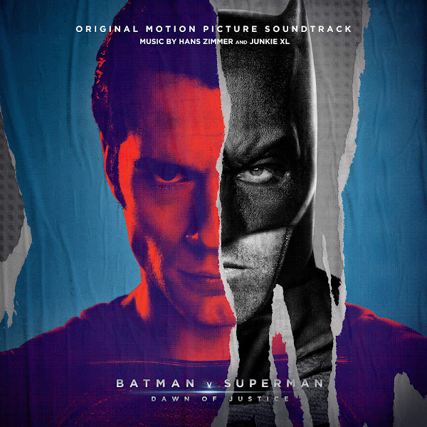 Hans Zimmer & Junkie XL - Batman v Superman: Dawn of Justice (Original Motion Picture Soundtrack) [Deluxe Edition] Cover