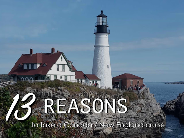 Cruise to Canada / New England