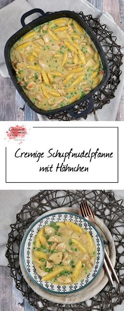 Cremige Schupfnudelffanne mit HähCremige Schupfnudelpfanne mit Hähnchen | Rezept | Kochen | Essen | Weight Watchers