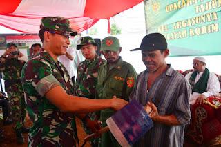 Program BSMSS, Pemkot Cirebon Dorong Gotong Royong Masyarakat dan TNI