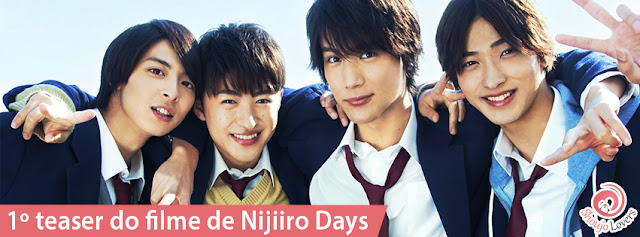 Primeiro teaser do filme de Nijiiro Days